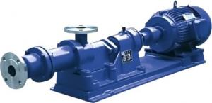China Single Stage High Viscosity Screw Pump , Chemical Industrial Screw Pump on sale