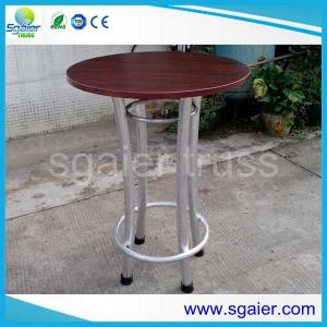 China aluminium bar table coffee table for sale on sale
