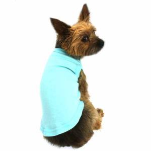 China Aqua Pet Small Breed Dog Clothes Plain Dog Shirt printed apparel x large on sale