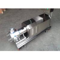 China Easy Operation Food Grade Pump Three Stage Pipeline High Shear Dispersing Emulsifier on sale