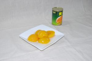 China Delicious New Crop Canned Yellow Peach , Healthy Canned Fruit in Syrup on sale