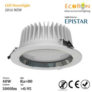 China hotel lighting warm white 220v cri80 smd led downlight recessed ceiling with 100deg on sale