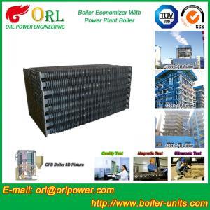 Condensing CFB Boiler Economizer Coil / Economiser In Power Plant