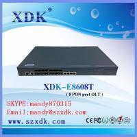 100% compact with ZTE Huawei Bdcom EPON OLT 8 PON port Gepon OLT