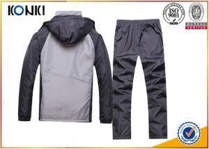 Duable Grey Custom Team Sports Apparel Uniforms For Man