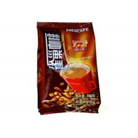 Zip Lock Aluminum Foil Coffee Packaging Bags For Food Moisture Proof