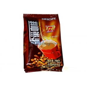 China Zip Lock Aluminum Foil Coffee Packaging Bags For Food Moisture Proof on sale