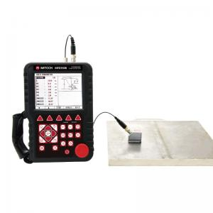 China Easy Operation Ultrasonic Flaw Detector Connecting To PC With Two Alarm Lights MFD350B on sale