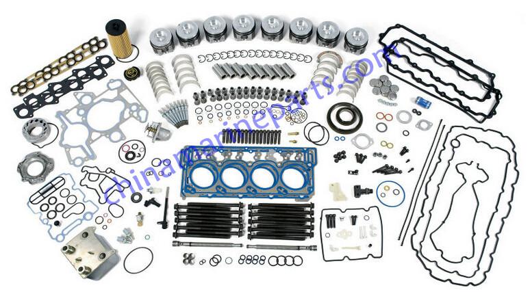 Ship parts Yanmar marine engine parts 3D84 head gasket for sale ...