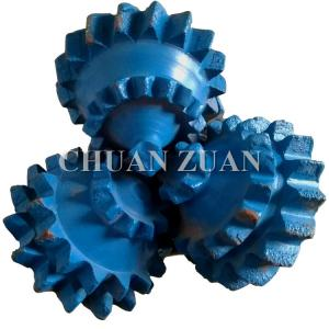 China factory new 6inch mill tooth tricone bit and steel tooth tricone chisel with water well on sale
