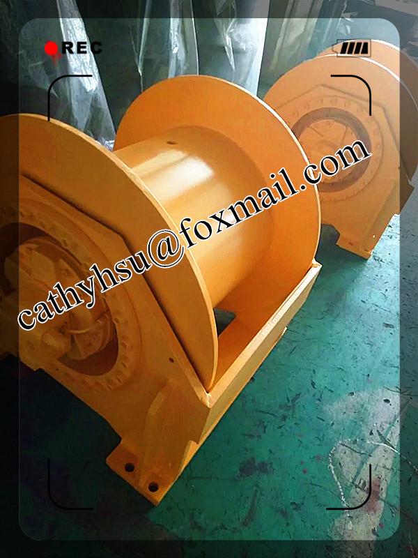 hydraulic winch hoisting winch marine winch