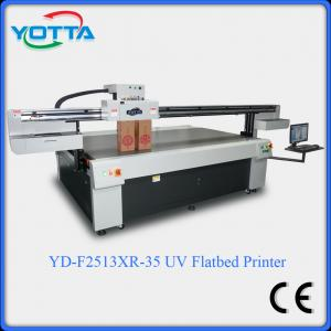 China Flatbed glass uv printer with 3D effect,for wood,ceramic,metal,leather printer on sale