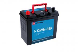 China 9.9 Kg Deep Cycle Starting Battery Low Self Discharge 6-QWN-36R Anti Vibration on sale