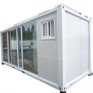 China Prefab Modular Moveable Container House Container Office 20ft 40ft on sale