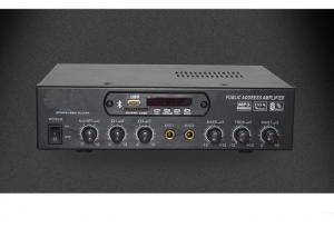 China 50W Power PA Speaker Amplifier , PA System Mixer Amplifier Customizable on sale