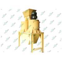 Industrial Vertical Straw Hammer Mill Compound Fertilizer Pellet Crusher
