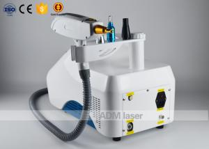 China Portable Q Switched Nd Yag Laser Machine , Laser Tattoo Removal Equipment CE Approval on sale