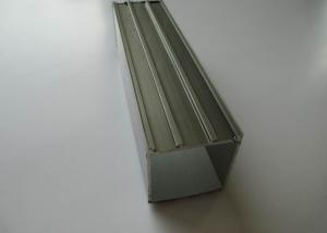 China Grey Guardrail Railing Aluminium Construction Profiles , Anodised Aluminium Profiles on sale