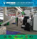 Single screw plastic recycling pelletizing making machine for scrap film and bags