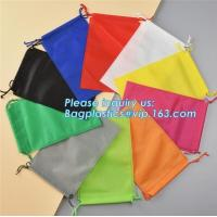 Wholesale Promotion Portable Gift Small Non Woven Drawstring Bag, Non woven drawstring pocket shoes bag , Clothes bag ,f