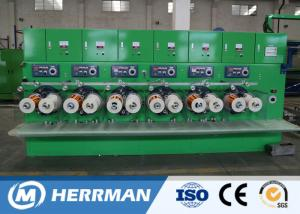 China Horizontal / Vertical Wire And Cable Machinery , Copper Wire Enamelling Machine on sale