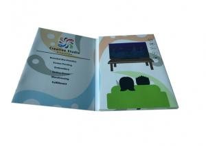 China 1GB Memory video book with extra page booklet brochure on sale