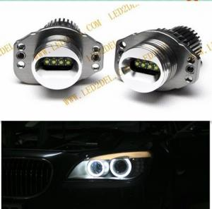 China 1250LM Car led cree 40w angel eyes E90 E91 led marker light lamp Headlights halo rings on sale