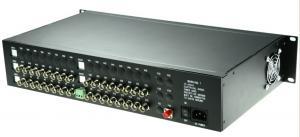 China Over voltage Protection fiber optic converter , multimode fiber transceiver max 2km Transmission on sale