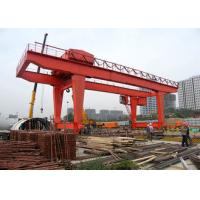 China 35ton Heavy Duty Gantry Crane , Electric Runway Traveling Overhead Gantry Crane on sale