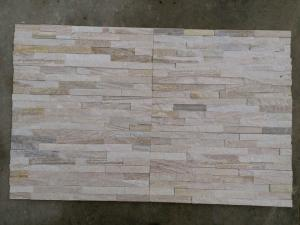 China Rusted Natural Quartzite Stone Veneer Wall Cladding For Wall Decoration on sale