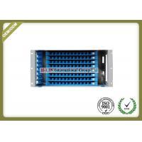 Waterproof 5U 96 Ports Fiber Optic Distribution Box For Telecommunication / Network