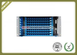 China Waterproof 5U 96 Ports Fiber Optic Distribution Box For Telecommunication / Network on sale