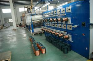 China Copper clad aluminium Enamelling machine on sale