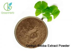 China China Factory Price 100% Natural Ginkgo Biloba Leaf Extract Powder on sale
