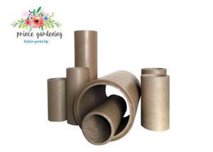 China Large Diameter Kraft Paper Core Tube For Tapes / Carpets / Fabrics / Textile on sale