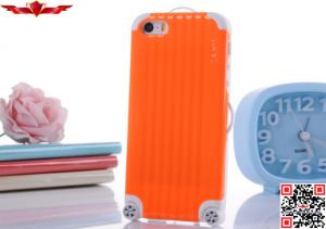 China New Fashon Design Luggage PC+TPU Cover Case For Iphone 4/5 Multi Color High Quality on sale