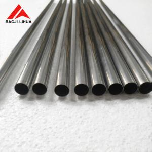 China 12.7mm Seamless Titanium Tube 15mm 24.5mm Hydraulic Test Long Life Span on sale