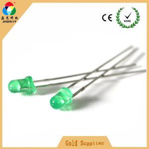 China Hot sales light source led light high green color 3mm side emitting led diode on sale