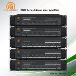 RH-AUDIO 6 Zone Amplifier Best Multi Zone Amplifier for Multi Background Music System