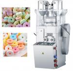 Sucre de double couleur/machine siffleurs de presse Tablette de sucrerie, machine de fabricant de Tablette de forme d'anneau