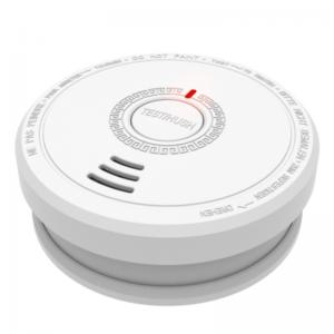 China Replaceable 9V Battery Type Smoke Detector Alarm with UK BRE EN14604 CE on sale