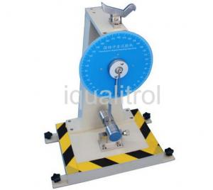 China Dial Reading Pendulum Impact Testing Machine Energy 11J for Non Metallic Materials on sale