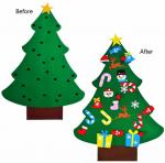 Detachable Ornaments Handcrafted Christmas Decorations , Christmas Crafts For Kids