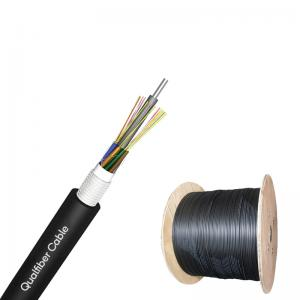 China GYTA Aluminum Tape Armored Fiber Optic Cable For Aerial And Duct on sale
