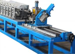 China False Ceiling Galvanized Steel Stud Roll Forming Machine Cr12 Steel Roller Material on sale