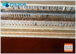 Conventional Maintenance Honeycomb Stone Panels , Composite Stone Panels