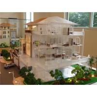 China Acrylic Architectural House Model Villa ,maquette Architecture , 3d House Model Building Factory on sale