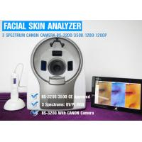 UV Spectrum Salon 3D Facial Skin Analyzer Machine With Canon Camera 8800 Lux