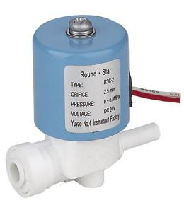 China Custom 2L Mini RO Water Machine Plastic Solenoid Valve With Quick Connector on sale