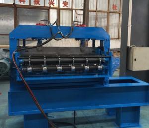 China 0.3 - espessura de 0.8mm que curva a máquina hidráulica da formação de folha do telhado 7.5KW da máquina on sale